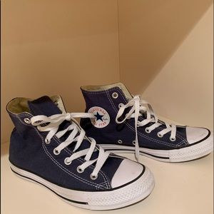 Navy Chuck Taylor All Star Converse